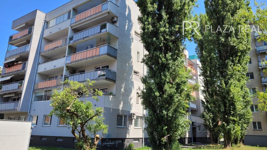 PRENÁJOM-pekný 2 izb. byt s loggiou v 15r.novostavbe, Haburská ul., BA-Ružinov